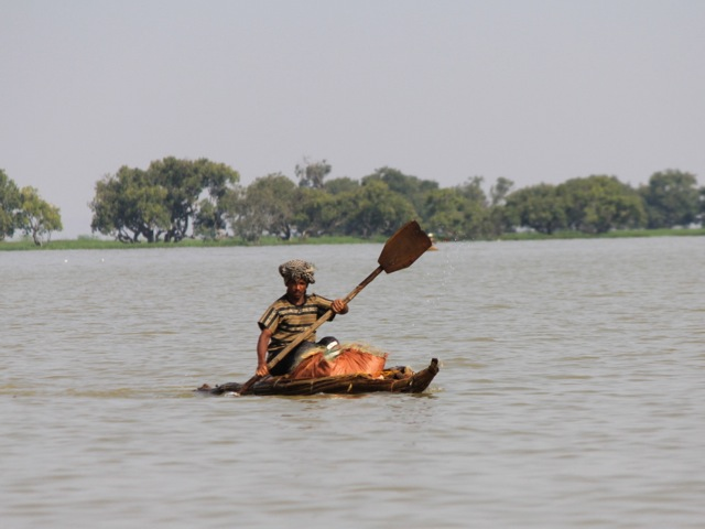 Fisherman, lake Tana, Ethiopia