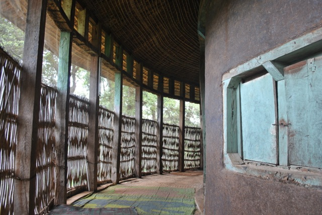 Outer gallery of Ura Kidane Mihret church, Ethiopia