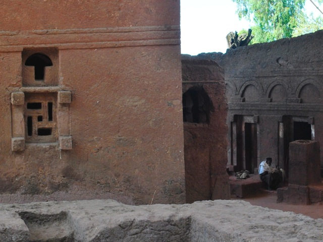 Bet Maryam and Bet Meskel, Lalibela, Ethiopia